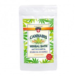 Cannabis Badesalz 200g Hanföl - 1