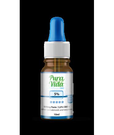 pura-vida-cbd-full-spectrum-5-with-hemp-oil-10ml